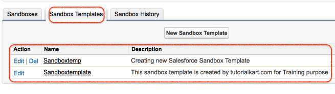 How to Create Salesforce Sandbox Template
