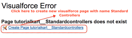 Standard visualforce controllers