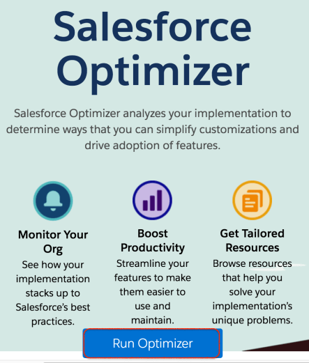 What is Salesforce Optimizer