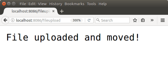 Node.js Upload File - Successful