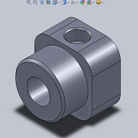 Make Rod Cover by SolidWorks
