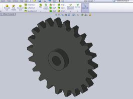 Design Spur Gear in Solidworks