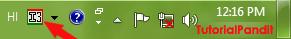 language-bar-showing-hindi-language-icon