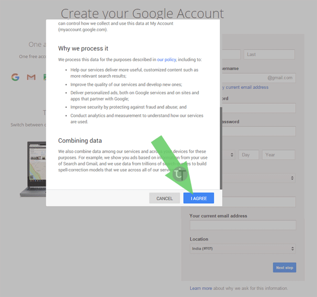 google-account-terms