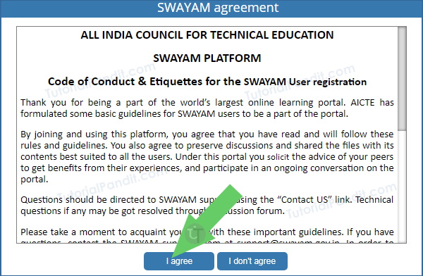 Swayam Agreement