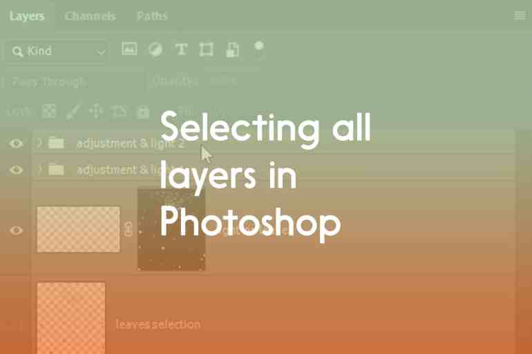 Selecting-all-layers-in-Photoshop