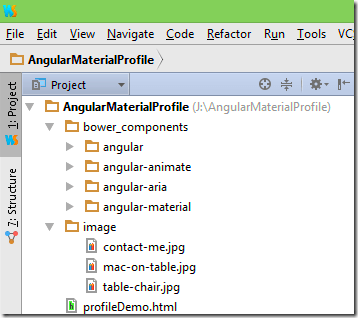 Building a Sample Profile Using Angular Material -Tutorial Savvy