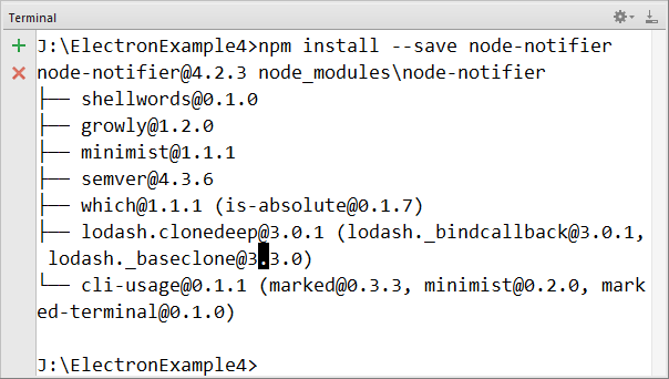Electron Desktop Notification Using Node Notifier -Tutorial