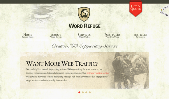 15 Most Wanted Web Designs – Inspiration of the Week #01 10