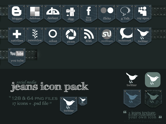 15 Free Social Media Icon Packs - Freebies 42