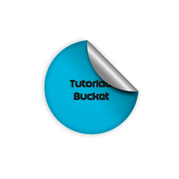 Web 2.0 Sticker Button Effect in Adobe Illustrator 1