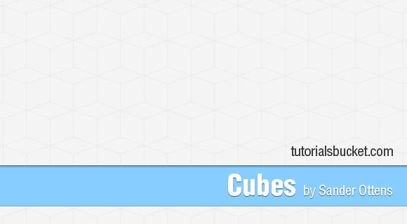 Cubes - Photoshop Pattern