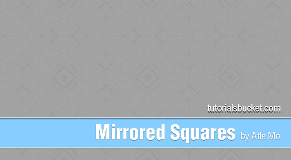 Mirrored Squares Pattern