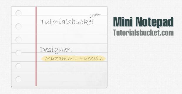 Mini Notepad 1