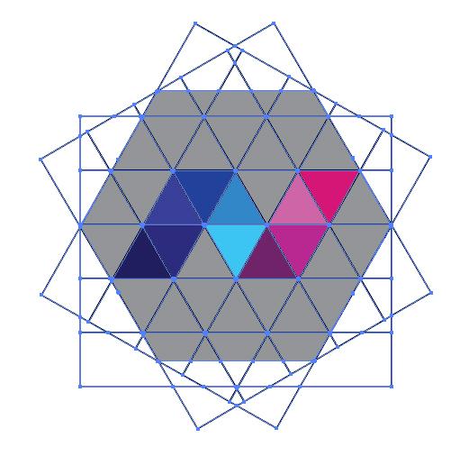 make your desired shape or alphabet