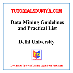 Data Mining Guidelines and Programs List PDF
