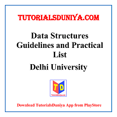 Data Structures Guidelines and Programs List PDF