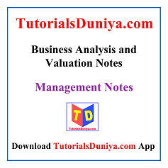 Business Analysis and Valuation Handwritten Notes PDF