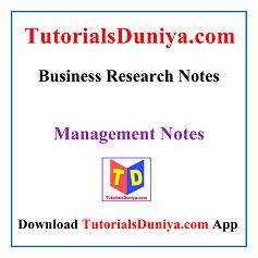 Business Research Handwritten Notes PDF