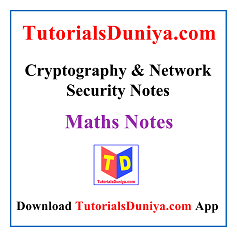 Cryptography & Network Security Notes PDF