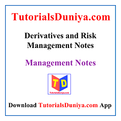 Derivatives and Risk Management Handwritten Notes PDF