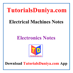 Electrical Machines Notes PDF