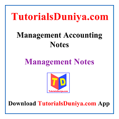 Management Accounting Notes PDF