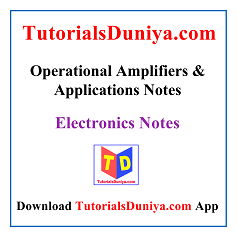 Operational Amplifiers and Applications Notes PDF