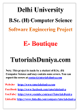 E-Boutique Software Engineering Project PDF