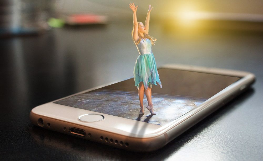 Photoshop Tutorial  3D pop out effect Dancing Girl photo