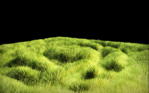 Simple Grass in The Ultimate Collection Of Maya 3D Tutorials
