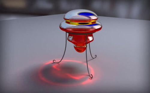 Caustics in The Ultimate Collection Of Maya 3D Tutorials