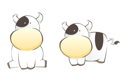 A Cow As Chinese New Year Zodiac For 2009