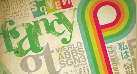 Textart6 in 40+ Killer Typographic Posters, Photoshop Effects and Tutorials