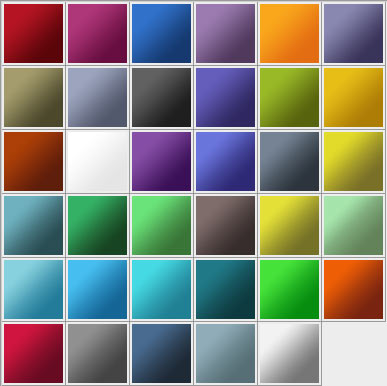 adobe gradients Awesome collection of Layer Styles for Photoshop