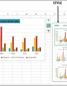 Step scroll down the gallery live preview will show you how your chart data look with currently selected style also advanced excel recommendations rh tutorialspoint
