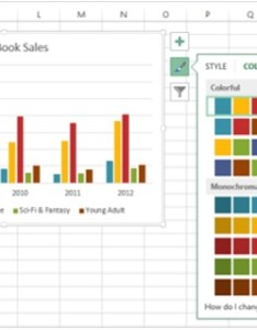Format color also advanced excel chart recommendations rh tutorialspoint