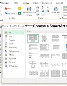 Choose smartart graphic also advanced excel organization chart rh tutorialspoint