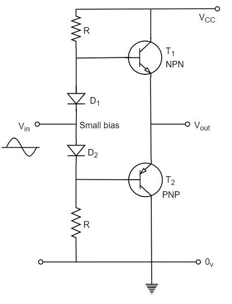 class ab power amplifier circuit