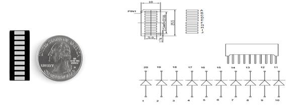 resistor circuit diagram 12v caravan wiring arduino led bar graph
