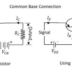 Common Base Configuration Circuit Diagram Basketball Court For Coaches Basic Electronics Transistor Configurations Cb