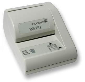 Magnetic Ink Card Reader (MICR)