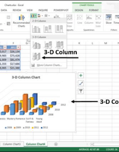 You can use this chart when want to compare the data across both categories and series also excel charts quick guide rh tutorialspoint