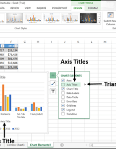 These chart elements to see  preview of how they are displayed for example select axis titles the both horizontal and also excel charts rh tutorialspoint