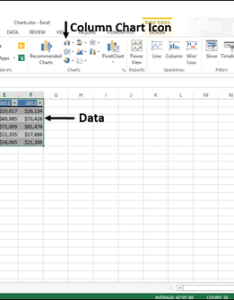 Excel charts creating also rh tutorialspoint