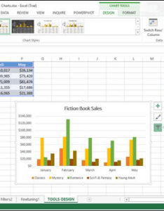 Step select the chart data range in source window also excel charts design tools rh tutorialspoint