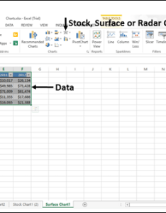 Excel charts surface chart also rh tutorialspoint