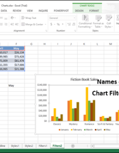 Click the names tab in chart filters of series and categories will be displayed also excel charts rh tutorialspoint