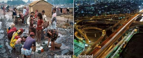 Developing vs Developed