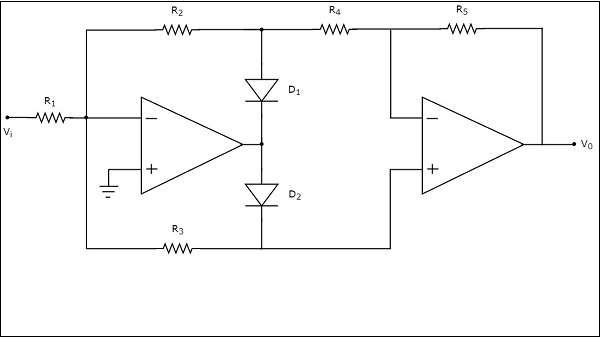 Full Wave Half Wave Rectifier Circuit Diagram
